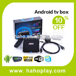 100% Original M8 Android Tv Box kodi hd 4k , m8 android tv box