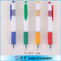 Short Click Ball Pen With Metal Spring(SQ4347)