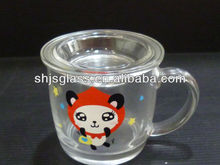 self-owned brand decal glass cup