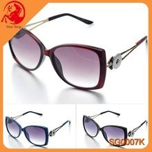 Summer Newest Style Fashion Snap Button Jewelry Sunglasses China Sunglass Manufacturers Interchangeable Press Snap Sunglasses