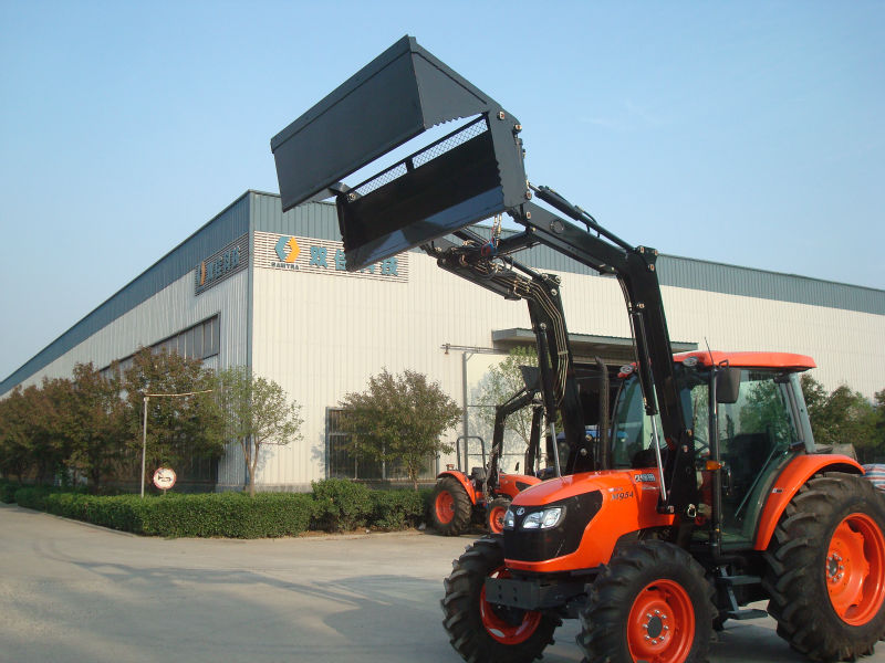 Kubota Small Garden Tractor Used Front End Loader Backhoe With Sd Sunco 4 In 1 Bucket Loader