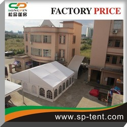 Romatic Outdoor Wedding Marquee Party Tents 10x20m with lining