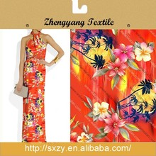 Hot selling best quality new tropical printing cotton net fabric