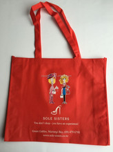 Wholesale Custom Eco PP Non Woven Shopper Bag for Gifts