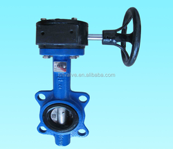 CE Certificate Gear Operated Butterfly Valve DN150