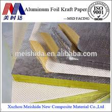 la construcción de la construcción de material de papel de aluminio perforado aislamiento se enfrentan