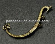 Brass Links, Chandelier Components, Antique Bronze(KK-B342-AB)
