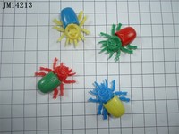 small size sliding insects/ very cheap toys/promotional toys for capsule and vending merchine