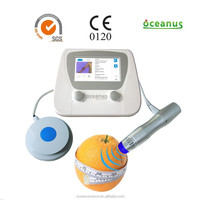 Non-invasive Beauty Equipment / Shock Wave Therapy Equipment for Cellulite Removal and Skin Tightening