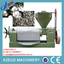 2015 CE certificated automatic screw press cotton seed oil extraction plant