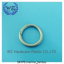 31mm key chain buckle zinc alloy round buckle