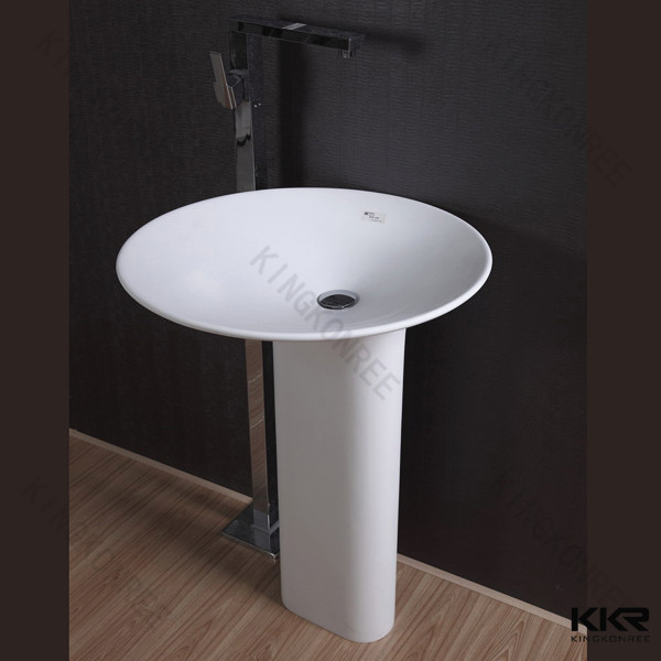 Freestanding Sink : ,Bathroom Trough Sink - Buy Marble Pedestal Sink Free Standing Sink ...