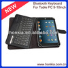 Universal Detachable Bluetooth Wireless Keyboard For Tabl PC 9-10.1inch, Supporting Android, IOS and Window