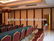 acoustic movable partition for multifunction room