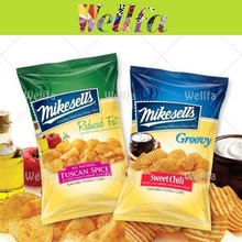 Foil Lined Potato Chips Packaging Material, Potato Chips Bag Wholesale