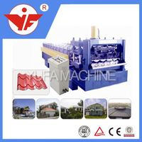 metal roofing tiles automatic high way guardrail dimensions roll forming machine