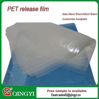 1188 hot peeling, flat and cold peeling, matt clear polyester release film