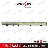 36 Inch 234w led light bar for atvs suv truck fork lift trains boat bus tanks led