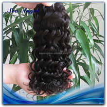 100% Human Hair Could Be Dyed Or Bleached thailand virgin hair