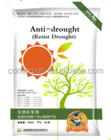 Anti-Drought organic foliar fertilizer for improving drought resistance in crops
