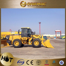 XCMG compact wheel loader with pilot control