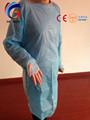 Hospital vestido de isolamento/descartáveis isolamento vestido