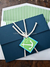 Nautical Themed Wedding Invitations party invites Classic card