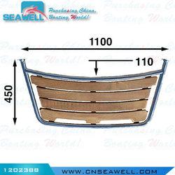 Stainless Steel & Teak Swim Platform for Boat 1100*450*32mm