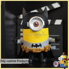 hot custom batman minions toy;custom made mini toy for collectible;customized mini toy maker