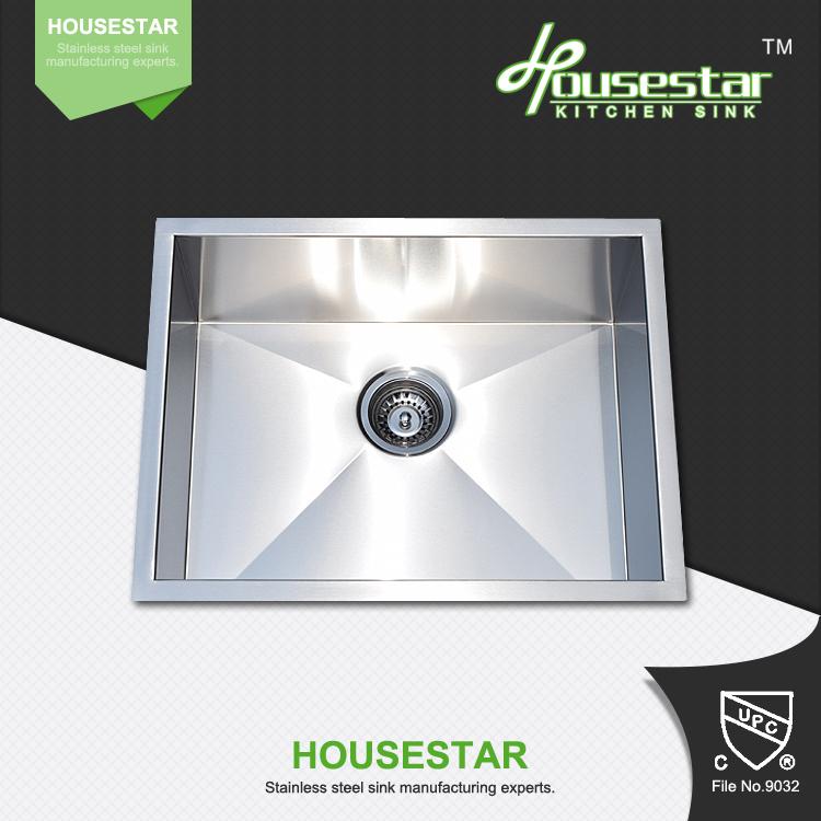 CUPC Certificate Interior Kitchen Cabinets Design Handmade Single Bowl ...