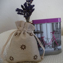 Lavender Bag / Linen Bag for Organic Lavender Grains+Free spare