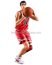 manufactory directly customized prototype of action figure with basketball