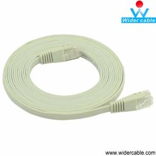 hacer en china mejor calidad color gris 5 metros super slim cat 6 cable