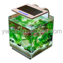 Smart glass fish tank aquarium for Smart fish tank