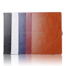 PU flip leather case pouch bag for iPad Pro, stand flip case for iPad Pro