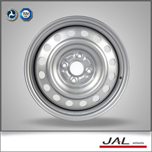 6x15 4/100 silver steel wheels for passenger car