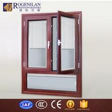 ROGENILAN 568# break bridge casement window fixed aluminium glass window