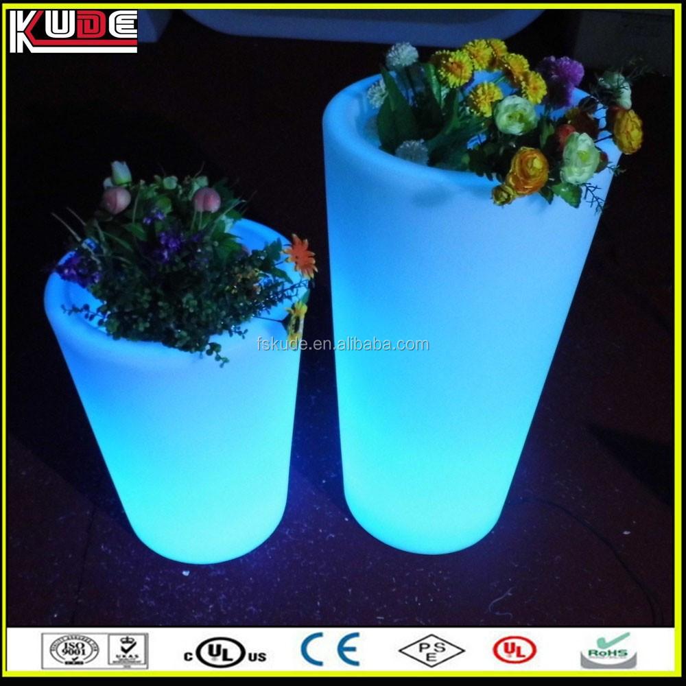 Jardin ext rieur grande taille en plastique pot de fleur - Jardiniere plastique grande taille ...
