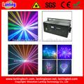 rgb 8w de navidad al aire libre luces de láser