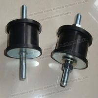 Natural rubber bonded metal heat resistant rubber mount/ rubber bumper/rubber cushion