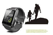 High quality touch screen wireless bluetooth android smart watch for smart phone