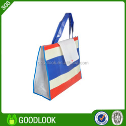 lamination woven good waterproof tote bags GL327