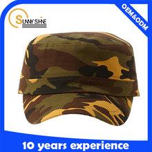 wholesale cadet hats new style custom flat top cap military hat