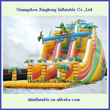 dinosaur giant adult inflatable slide for party & event