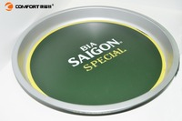 new design hot selling anti-slip table barware use plastic tray