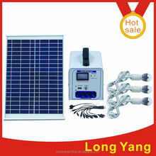 China solar energy system for Camping / 20W solar power DC system for outdoor lighting