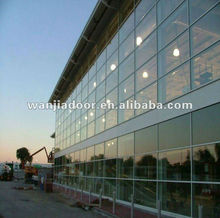Wanjia splendid aluminium curtain wall foshan factory
