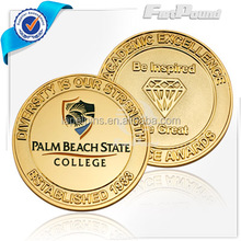 Guangdong Promotional Factory Custom Design Metal Souvenir Coin with Custom Design