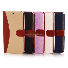 Durable useful for iphone 5 s wallet leather case