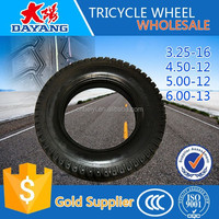 high quality hot sale passenger tricycle tire 6.0-12/4.50-12/5.00-12